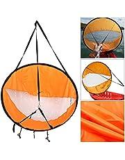 A&DW Downwind Wind Sail Kit 42 Pulgadas Kayak Canoa Accesorios, Fácil Instalación Y Despliega Rápidamente, Compacto Y Portátil