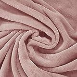 Exclusivo Mezcla Luxury Flannel Velvet Plush Throw