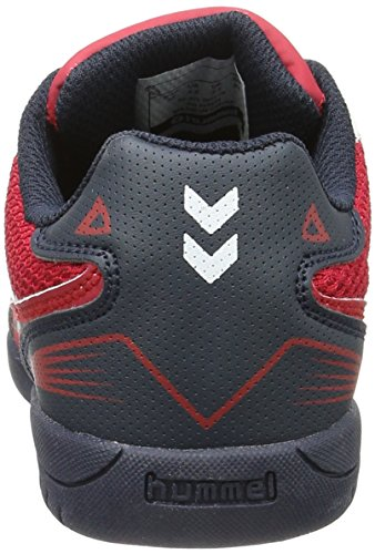 Hummel - Zapatillas de deporte, Unisex Rojo (Scarlet)