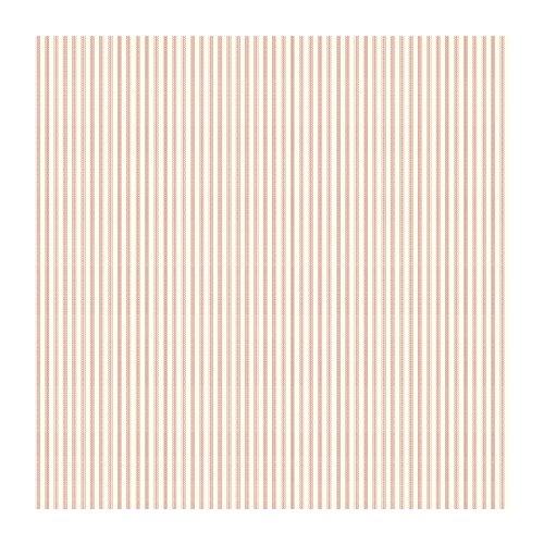 York Wallcoverings SM8555SMP Small Treasures Ticking Stripe Wallpaper Memo Sample, 8-Inch x 10-Inch