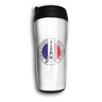 Acier En Forme De Eiffel Courbe Mug France Tour Paris Inoxydable MVUqzSp