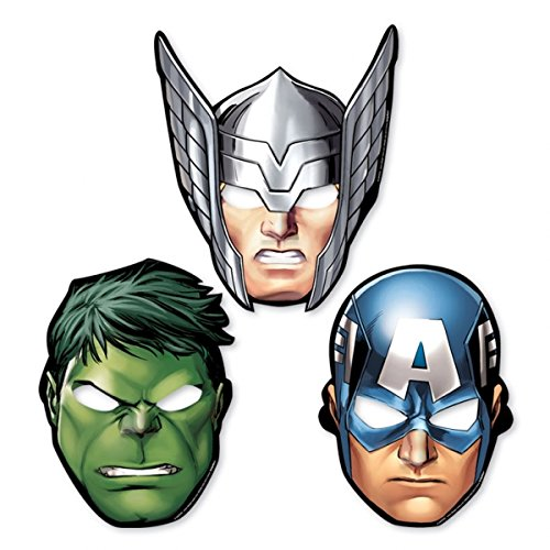 GBP INTERNATIONAL Avengers Birthday Party Tableware 2015 Range Decoration Items (Paper Masks (Avengers Pinata)
