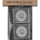 Dress My Cupcake DMCG018SET Chocolate Candy Mold, Happy Anniversary, Set of 6