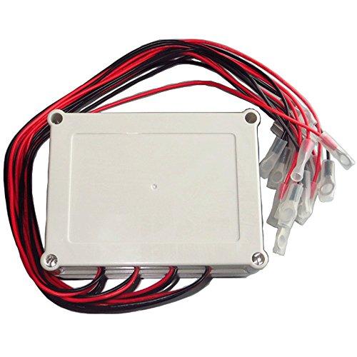 Battery Equalizer High Efficiency 8 × 12V 96V for Lead-acid Batteris Balancer Charger for Gel Flood AGM Lead Acid Bat by ZHCSolar