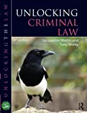 Unlocking Criminal Law, Tony Storey and Jacqueline Martin, 1444171097