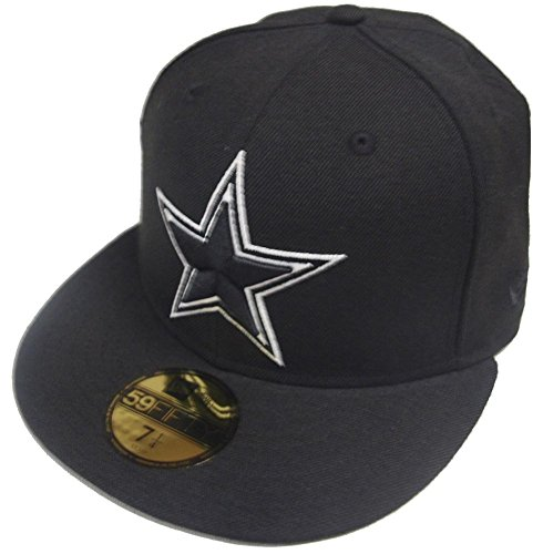 New Era Dallas Cowboys Black White 59fifty Fitted Cap Basecap Limited Edition
