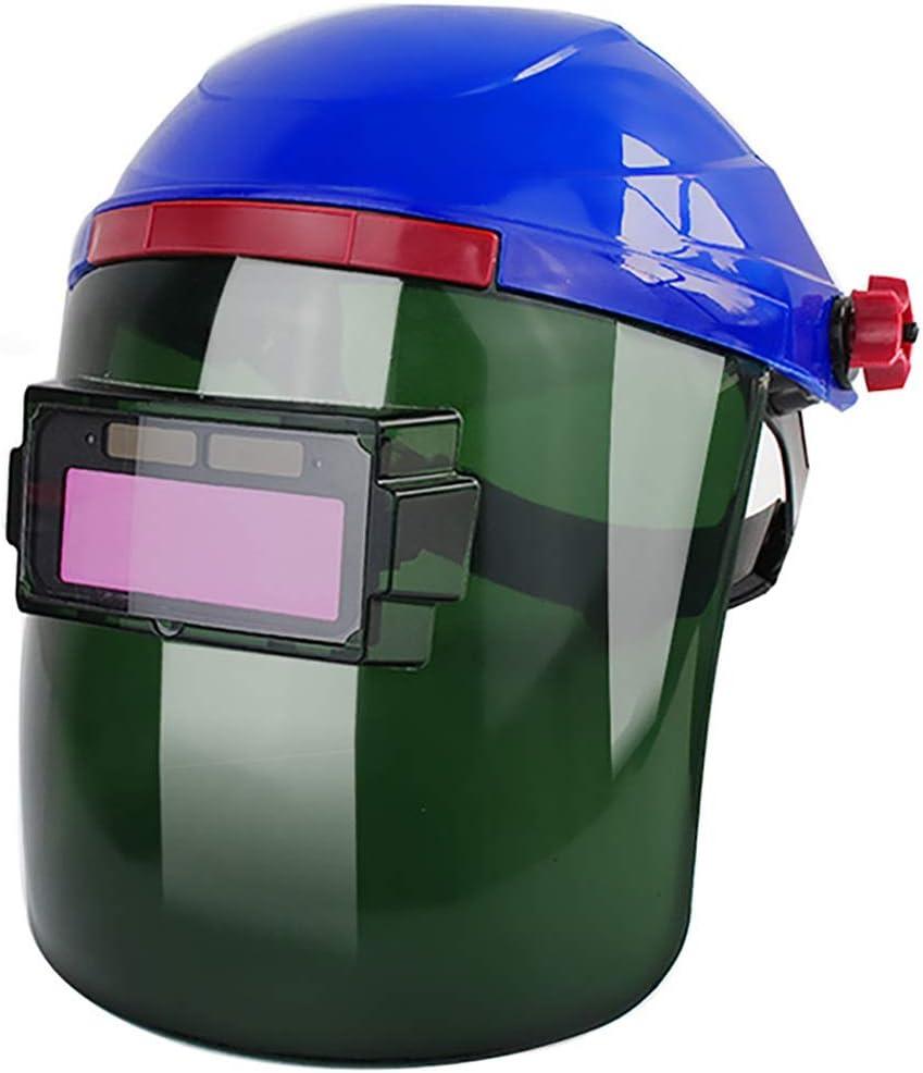 Qi Peng Máscara de Soldadura - Totalmente automática Cambio de luz Cabezal de protección Anti-Ultravioleta antirreflejo de Arco de argón Soldador de Soldadura de Arco Especial Soldadura Especial