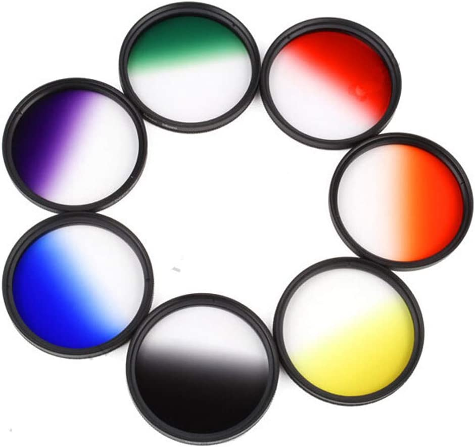 All Brands of 77mm Digital SLR Camera Lens Market/&YCY Purple Gradient Filter for Canon Nikon Sony