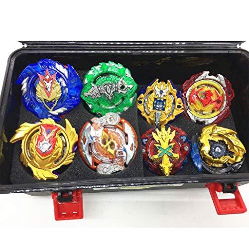 JIENI Beyblade Burst Starter - Beyblade Burst Gyro Set (8 Battling Top + 3 Launcher) Puzzle Creative Educational Gift Toy - Launcher Battle Game Tops Combination Set by JIENI (Image #7)