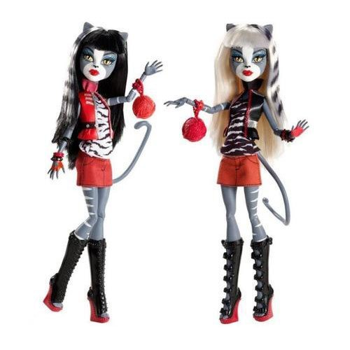 Monster High Werecat Twin Sisters - Meowlody and