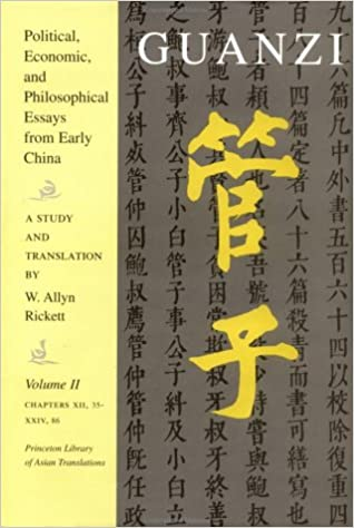 com guanzi political economic and philosophical  002 guanzi political economic and philosophical essays from early volume ii