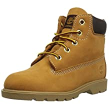 Timberland Infants/Toddlers 6 Inch Classic Boot,Wheat Nubuck,US 9.5 M