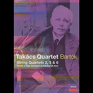 Takacs Quartet: Bartok - String Quartets 2, 3 & 6