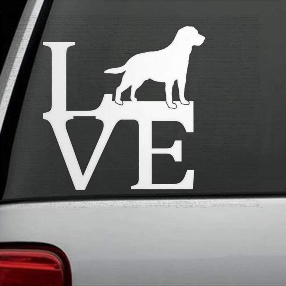 DONL9BAUER Hot Air Balloon Love Bumper Sticker Car Window Decal Sticker for Car Truck Laptop SUV Van Wall