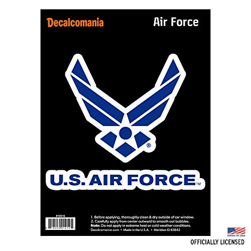 Force Air Window Us - Officially Licensed U.S. AIR FORCE - Large 5.5