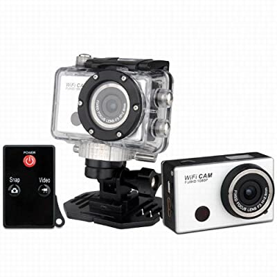 New SJ1000 F21 Outdoor Waterproof WIFI Action Camera Sports HD Mini DV Camcorder for Cycling Helmet Diving Surfing Aerial Camera Motorbike Camcorder DVR DV Wireless Sport Camera