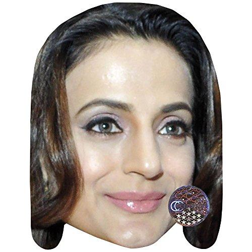 Amisha Patel Celebrity Mask, Card Face and Fancy Dress Mask