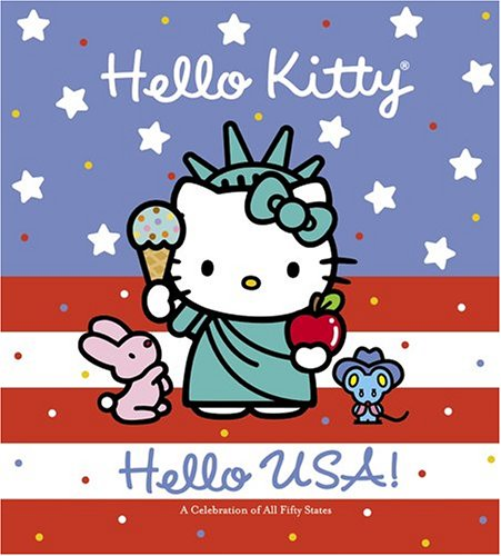 Hello Kitty Hello Usa Higashiglaser Design Inc 9780810957725
