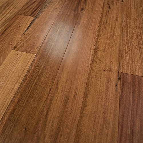 "Amendoim Prefinished Engineered Wood Flooring 5"" X 1/2"