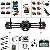 QWinOut Full Set 6-axis Hexacopter Drone Kit: Tarot 680PRO Frame + 700KV Motor + GPS + APM 2.8 Flight Control + LCD Transmitter