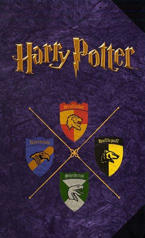 Harry Potter Journal: Hogwarts Crests