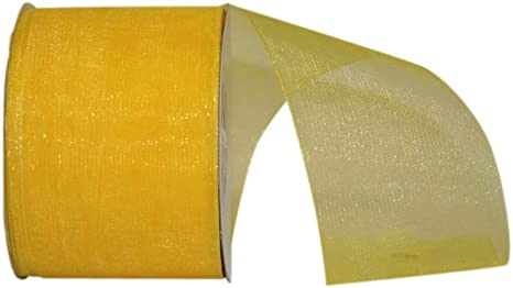 Burgundy Reliant Ribbon Chiffon Mono Sheer Ribbon 2-1//2 Inch X 50 Yards