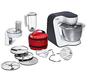 Bosch mum52120 robot de cocina negro y blanco acero - Robot cocina amazon ...