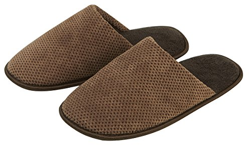 Slipper Plain House Mens Mule Shoes Colors Brown Comfortable Assorted ZfqxEd6wx