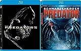 Predator Ultimate Hunter & Predators Sci-Fi Aliens Blu Ray DVD Movie Set