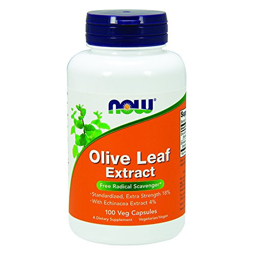 NOW Olive Leaf Extract Extra Strength,100 Veg Capsules
