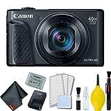 Canon PowerShot SX740 HS Digital Camera (Black) Basic Bundle - International Model
