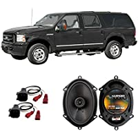 Fits Ford Excursion 2000-2005 Front Door Factory Replacement Harmony HA-R68 Speakers New