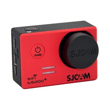 SJCam SJ-LENS-5000 - Kit Original SJCAM Cubre Objetivo para cámara + Cubre Objetivo de Carcasa estanca, Color Negro