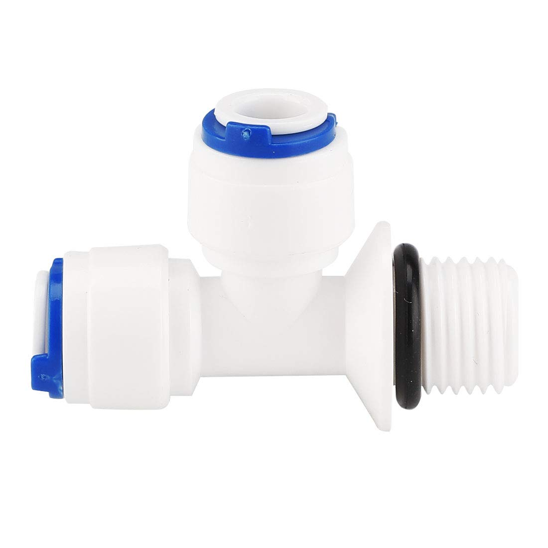 uxcell Straight 1//4 Inch OD Quick Connect Water Purifiers Tube Fittings Push in to Connector Water Joint for Reverse Osmosis System