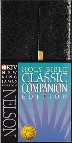 Classic Companion Bible-NKJV-Snap Flap: New King James Classic