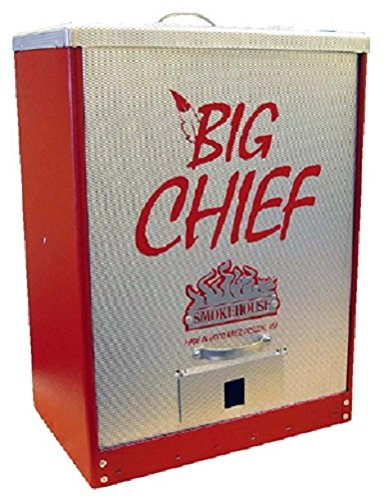Smokehouse Big Chief 9894-RED Tuff-Coat Electric Front Load Meat (Front Load Smoker)