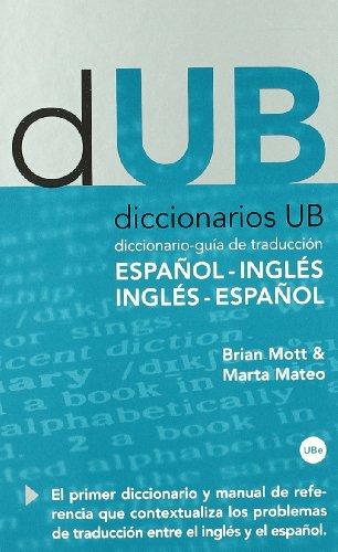 Descargar Libro Diccionario-guía De Traducción: Español-inglés, Inglés-español Marta Mateo Martínez-bartolomé
