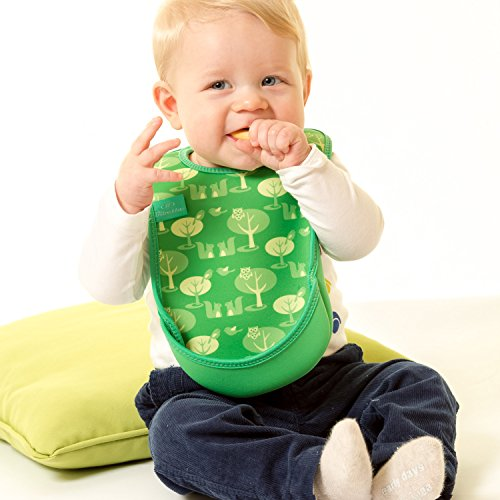 Bibetta Ultrabib Baby Bib (Green Owl) by BabyCenter (Image #4)