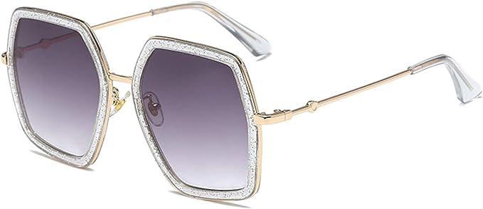 Amazon.com: YESPER Oversized Square Sunglasses for Women Vintage ...
