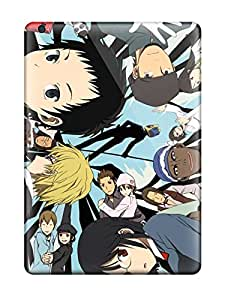 Tpu Case Cover For Ipad Air Strong Protect Case - Durarara Characters Design