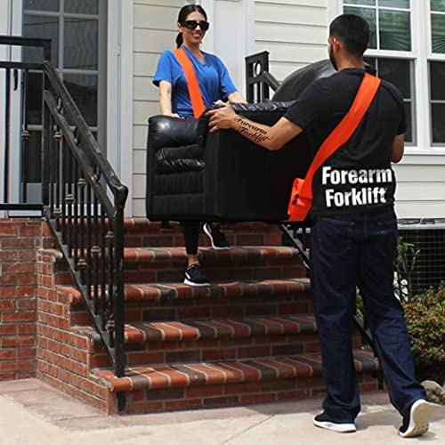 Amazon Com Forearm Forklift Ffsng Sash 2 Person One Shoulder Lifting And Moving System For Furniture Appliances Mattresses Or Heavy Objects Up To 800 Pounds Home Improvement