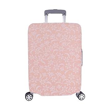 435a348bdbedde Eleganz Nahtlose Tapete rosa Blumen Muster Spandex Trolley Reisegepäck  Beschützer Koffer Abdeckung 28