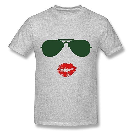 Sunglasses And Kisses Tshirts Hamiltong Performance T Shirt O-Neck Mens Gray - Buy Where Can Sunglasses I