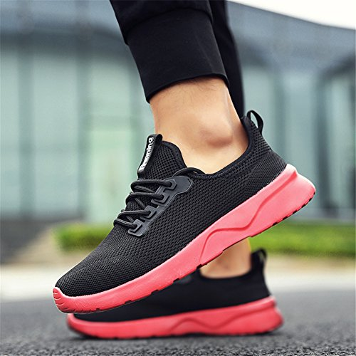 Gym Femme Running Sneakers Shoes Baskets Homme de Casual Rouge Chaussures Sport TORISKY Zw8qx5T7