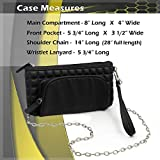 LULUCCI EpiPen Carrying Case Wristlet and Cross