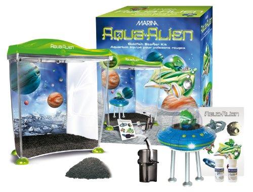 Hagen Goldfish Kit - Marina Aqua Alien Goldfish Kit