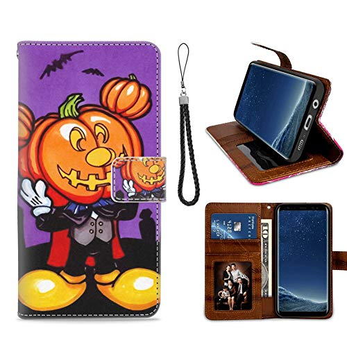 DISNEY COLLECTION Samsung Galaxy S8 Plus Wallet Case with Kickstand (6.2