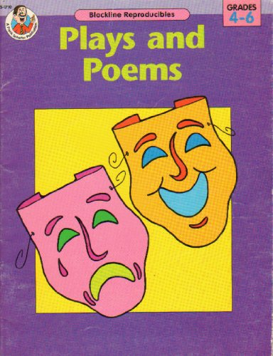 Plays and Poems Grades 4-6 Blackline Reproducibles