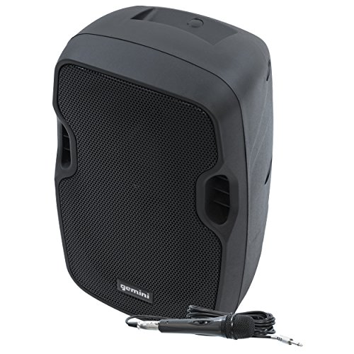 Gemini AS-TOGO Series AS-08TOGO Professional Audio Bluetooth 8-inch Battery Powered Portable PA Loudspeaker with 200W Class AB Amplifier