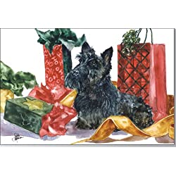Rainbow Card Company 10-pack Christmas Postcards - Scotty